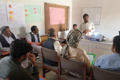 4.Training Manager brieifing participants on importance of project-Chaman