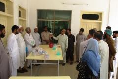Dr. Nazim Ud Din presenting Sample and Necropsy report- Batkhela